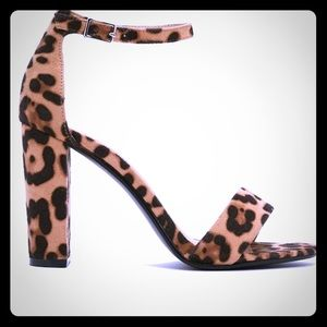 NASTY GAL Here Kitty Leopard Heel NEW!! Size 7.5!